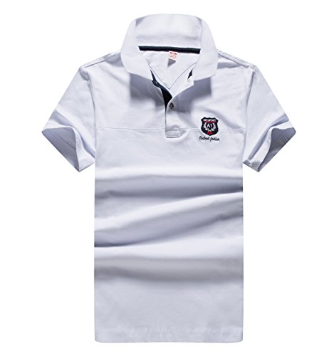 XShing Mens Polo Advantage Shirts Short Sleeve Clearance Jersey Slim Fit Tee Tops